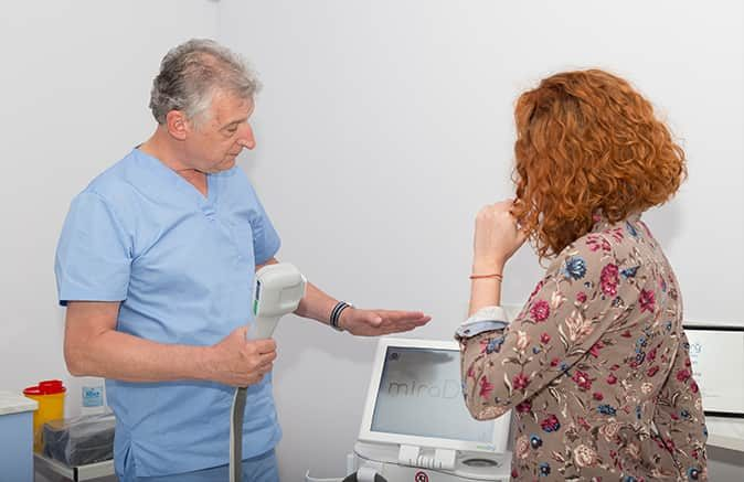 """Д-р Йорданов разказва за трайното лечение на аксиларна хиперхидроза в предването """"Код 11-13"""" на телевизия BiT"""